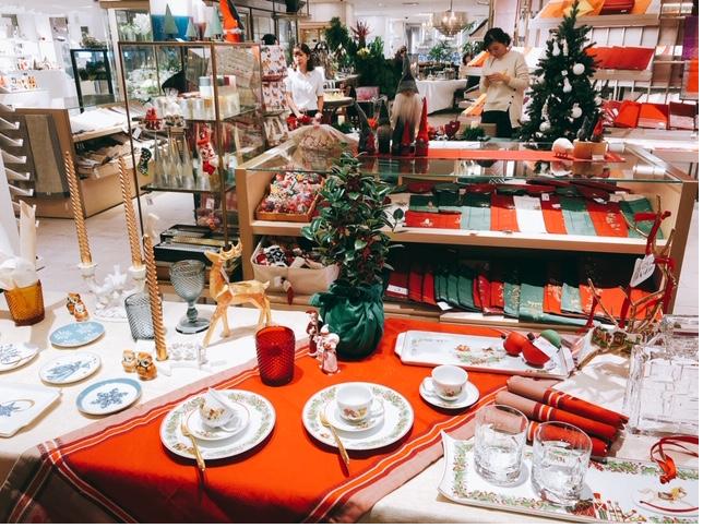 伊勢丹クリスマスサブテーブル